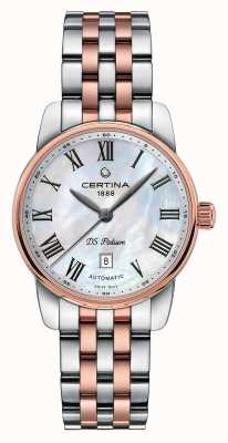 Certina Womens ds podium automatisch horloge C0010072211300