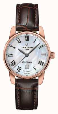 Certina Womens ds podium automatisch horloge C0010073611300