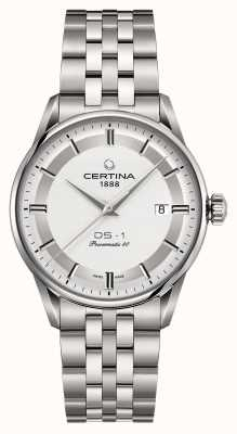 Certina Mens ds-1 powermatic 80 automatisch horloge C0298071103160