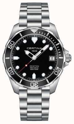 Certina Mens ds actie precidrive 300m horloge C0324101105100