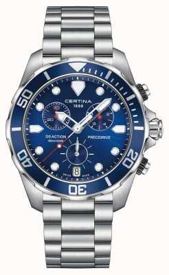 Certina Mens ds actie precidrive chronograph 300m horloge C0324171104100