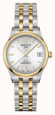 Certina Womens ds-8 quartz chronometer horloge C0332512203100