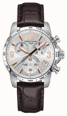 Certina Mens ds podium precidrive chronograaf horloge C0344171603701