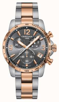 Certina DS Podium precidrive herenhorloge | tweekleurig | Ex display C0344172208700EX-DISPLAY