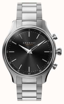 Kronaby 38mm sekel bluetooth stalen metalen armband smartwatch A1000-2750