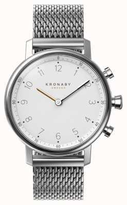 Kronaby 38mm nord bluetooth stalen gaas armband smartwatch A1000-0793