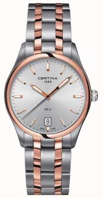 Certina Mens DS-4 tweekleurig quartz horloge C022.410.22.031.00