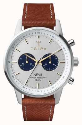Triwa Loch nevil tuimelde bruin genaaid classic 2 NEST116-010212