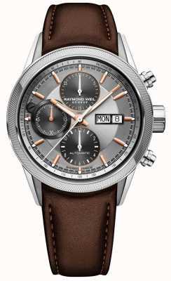 Raymond Weil Heren freelancer automatisch chronograaf horloge 7731-SC2-65655
