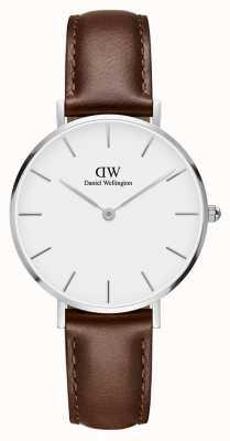 Daniel Wellington Unisex klassieke petite st mawes 32mm zilver wit DW00100187