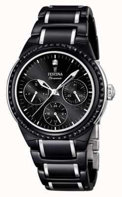 Festina dames multifunctioneel keramisch horloge F16699/4