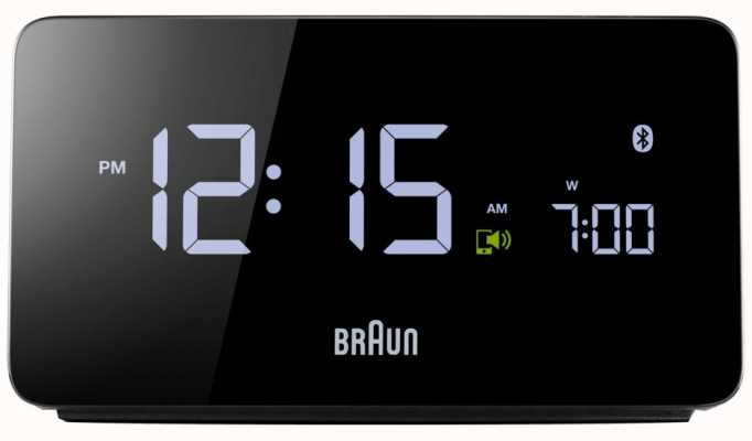 Braun Digitale bluetooth wekker BNC020BK