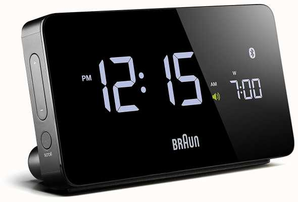 Braun Digitale bluetooth wekker zwart BNC020BK