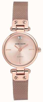 Anne Klein Womens isabel rosegouden armband en wijzerplaat AK/N3002RGRG