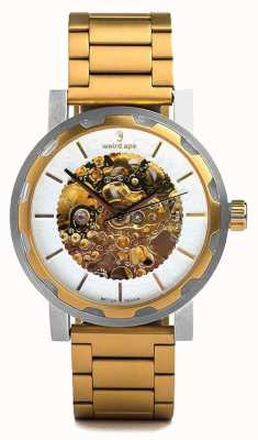 Weird Ape Kolt automatische gouden ip armband roestvrijstalen kast WA02-005527