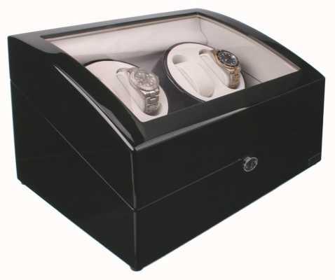 AXIS Zwarte automatische 4 watch winder nieuw met 5 bewakingscamera's AXWW-1205BL