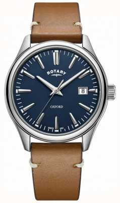 Rotary Heren oxford band roestvrij staal GS05092/05