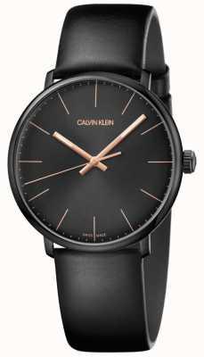 Calvin Klein Hoog middag herenhorloge minimalistisch K8M214CB