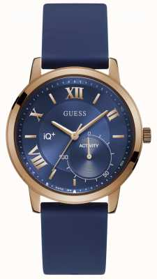Guess Iq + unisex hybride smartwatch C2004G2