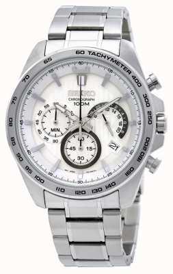 Seiko Herenhorloge van roestvrij staal met chronograaf SSB297P1