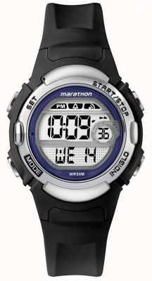 Timex Marathon zwart rubber horloge TW5M14300