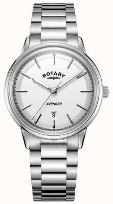 Rotary Heren avenger horloge roestvrij stalen barcelet GB05340/02