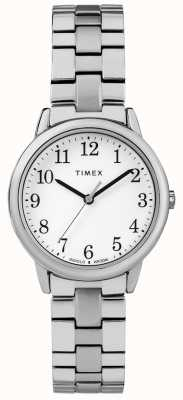 Timex Womens 31mm expeditional band inox witte wijzerplaat TW2R58700