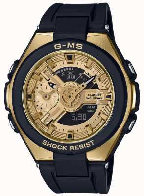 Casio Baby-g g-ms glamoureuze gouden alarm chronograaf MSG-400G-1A2ER