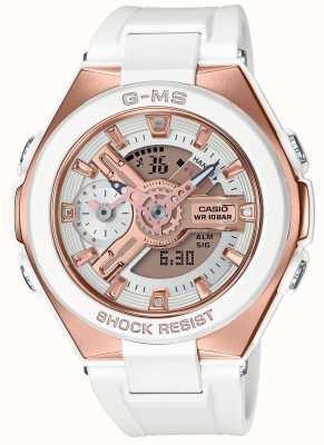 Casio Baby-g g-ms glamoureuze gouden alarm chronograaf MSG-400G-7AER