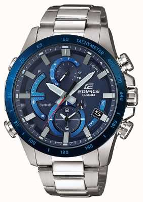 Casio Edifice bluetooth stoere solar super illuminator blauw EQB-900DB-2AER