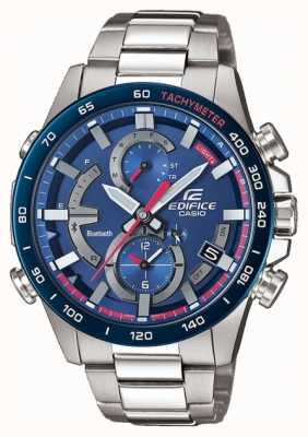 Casio Edifice bluetooth toro rosso stoere zonne-hulpverlichting EQB-900TR-2AER