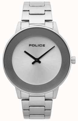 Police Herenhorloge roestvrij staal minimalistisch 15386JS/04M
