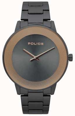 Police Herenhorloge, minimalistisch horloge in roestvrij staal 15386JSU/61M