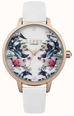 Lipsy Horloge met witte wijzerplaat met witte wijzerplaat LP572