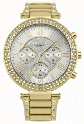 Lipsy Dames kristal bezel gouden armband horloge LP561