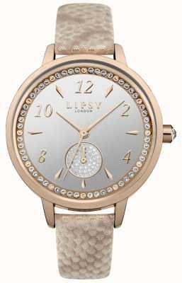 Lipsy rose gouden band en horlogekast LP582