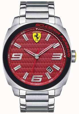 Scuderia Ferrari Aero evo mens roestvrij staal 0830167