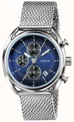 Breil Beaubourg roestvrij stalen chronograaf blauwe wijzerplaat TW1529