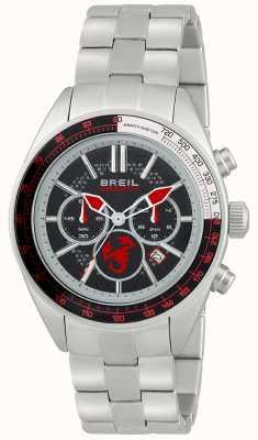 Breil Abarth roestvrij stalen chronograaf zwarte en rode wijzerplaat TW1692