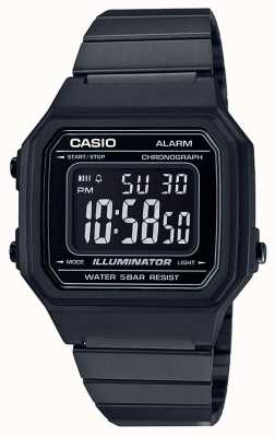 Casio Vintage kern klassieke digitale illuminator black ip coated B650WB-1BEF