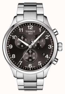 Tissot Heren chrono xl klassieke wijzerplaat roestvrij stalen armband T1166171105701