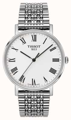 Tissot Heren altijd medium saffier roestvrij stalen armband T1094101103300