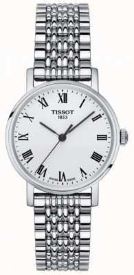 Tissot Dames altijd klein saffier zilverkleurige wijzerplaat roestvrij staal T1092101103300
