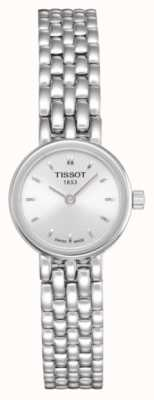 Tissot Mooie roestvrij stalen armband in de vorm van een zilveren wijzerplaat T0580091103100