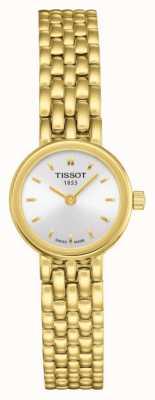 Tissot Mooie vergulde zilveren damesring in dames T0580093303100