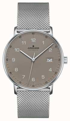 Junghans Vorm een automatische milanese mesh-armband 027/4836.44