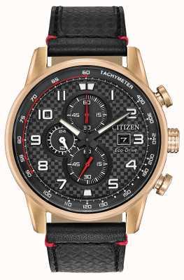 Citizen Heren sport chronograaf datumweergave 24 uur sub wijzerplaat CA0683-08E
