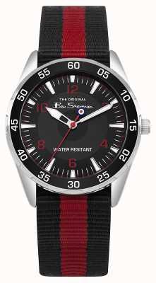 Ben Sherman Kinderschoentas en horlogegeschenkset BSK003RB