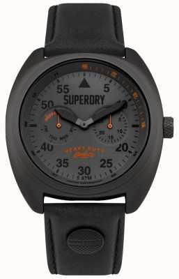 Superdry Scout vlieger datum & dag geeft zwarte band weer SYG229BB