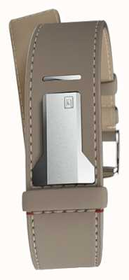 Klokers Klink 04 grege rechte enkele riem slechts 22 mm breed 230 mm KLINK-04-LC9
